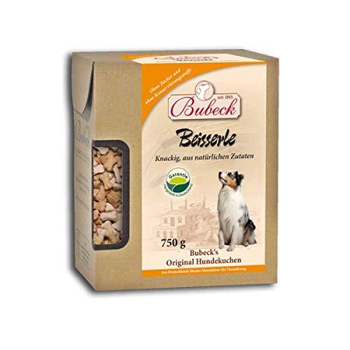 Hundeleckerli mit Weizen | für Hunde aller Rassen | Hundekekse mit Rind & Geflügel gebacken | natürlicher Hundesnack ohne Zucker & ohne Konservierungsstoffe | Hundekekse in Knochenform