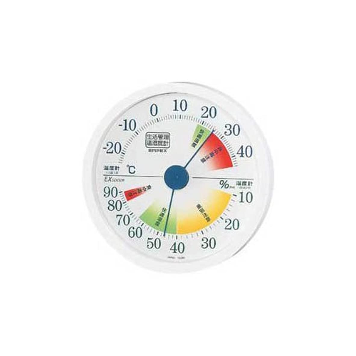 救急車ふつう手を差し伸べる【まとめ 10セット】 EMPEX 生活管理 温度?湿度計 壁掛用 TM-2441 ホワイト