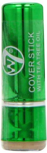 w7 Tea Tree Anti Cernes et Correcteur, à L'extrait de Thé Vert Anti Oxydant 18 g