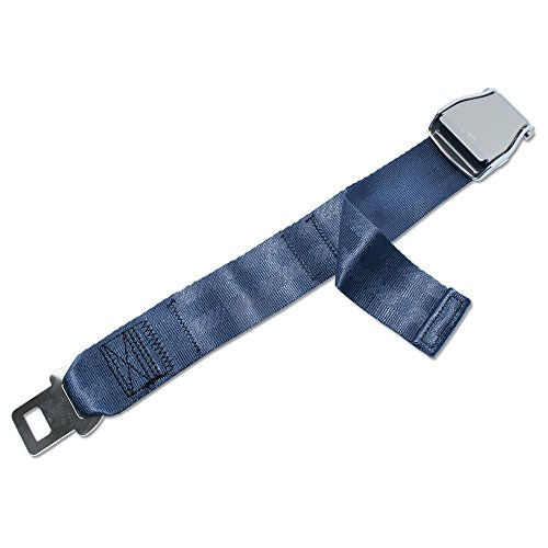 FAA Approved - Airplane Seat Belt Extender - FREE VELOUR POUCH