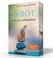 Tarot. Weg der Achtsamkeit: Set mit Buch und Karten