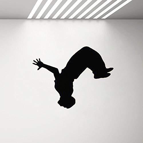 yaonuli Parkour muursticker jongen slaapkamer decal straat sport vinyl kunst muur sticker huisdecoratie muur sticker