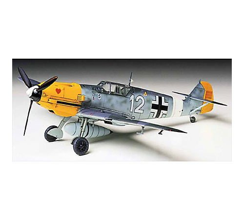 Tamiya 60755 - Messerschmitt BF109E-4 / 7 Trop, Modellino in Scala 1:72