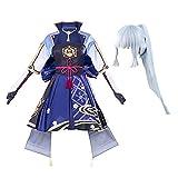 Lemany Traje de Cosplay de Shenli Linghua con Peluca de Cosplay de Shenli Linghua Traje de Cosplay de Shenli Linghua con Sombrero Conjunto Completo para Halloween