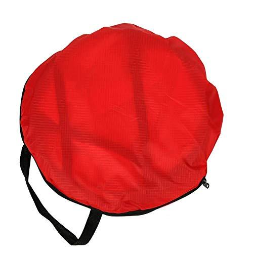 DAUERHAFT Accesorios para Kayak de Vela a Favor del Viento Fácil de Usar Resistente para protegerte del Sol(Red)