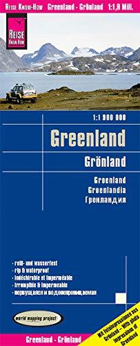 Reise Know-How Landkarte Grönland / Greenland (1:1.900.000): reiß- und wasserfest (world mapping project)