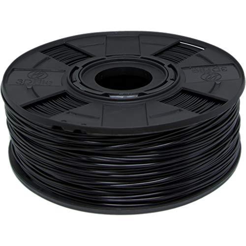 Filamento ABS Premium para Impressora 3D 1,75mm 1kg (Preto)