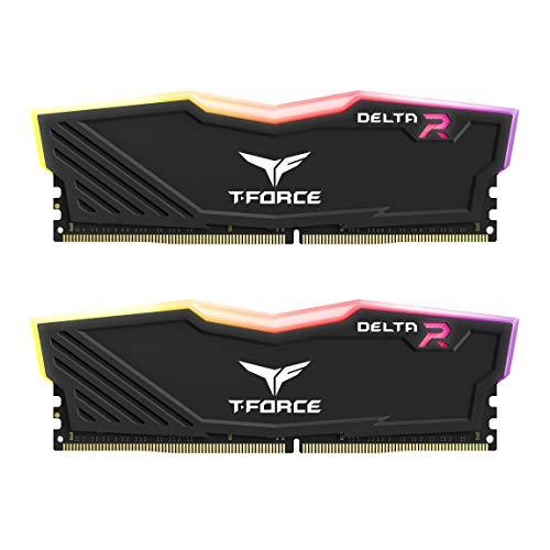 Team RGB(発光型LED8個モデル) DDR4 3000Mhz(PC4-24000) 8GBx2枚(16GBkit) RGB DELTAシリーズ デスクトップ用メモリ ハイスピードタイプ 日本国内無期限保証
