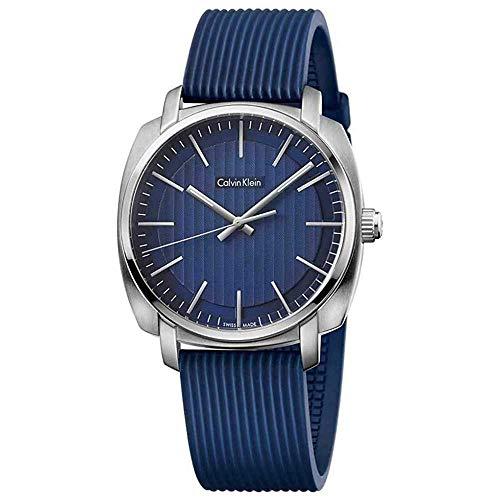 Calvin Klein Highline-Azul Cuarzo analógico Hombre Reloj K5M311ZN