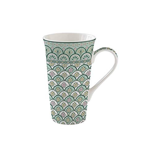 COFFRET 1 MUG 60CL EN PORCELAINE MONSOON GREEN