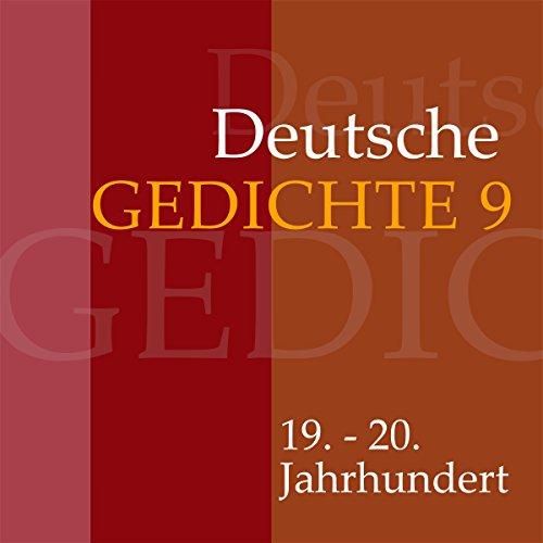 Deutsche Gedichte 9 - 19. - 20. Jahrhundert Titelbild