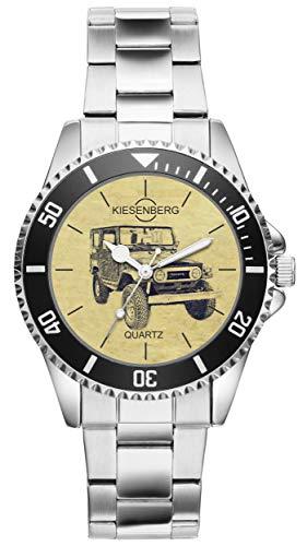 KIESENBERG Uhr - Geschenke für Toyota Land Cruiser BJ40 Oldtimer Fan 6555