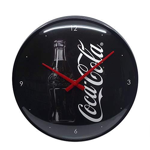Nostalgic-Art Retro Wanduhr Coca-Cola – Sign of Good Taste – Geschenk-Idee für Coke-Fans, Große Küchenuhr, Vintage-Design zur Dekoration, 31 cm