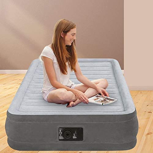 Intex 67766 - Colchón hinchable Dura-Beam Plus ComfortPlush - 99 x 191 x 33 cm