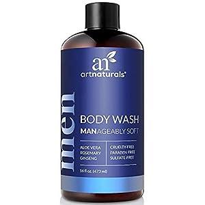 artnaturals Men's Fresh Body Wash – 16 Oz Natural Shower Gel that Cleanses, Refreshes, Deodorizes & Moisturizing – Men's… 6