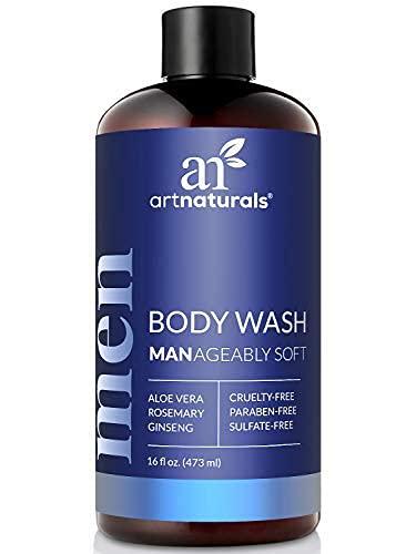 artnaturals Men's Fresh Body Wash – 16 Oz Natural Shower Gel that Cleanses, Refreshes, Deodorizes & Moisturizing – Men's… 1