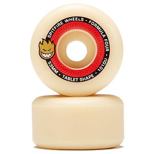 Spitfire Formula Four Tablet 101 Skateboard Wheel 53mm Natural