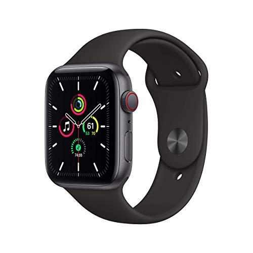 Apple Watch SE (GPS + Cellular, 44mm) -...