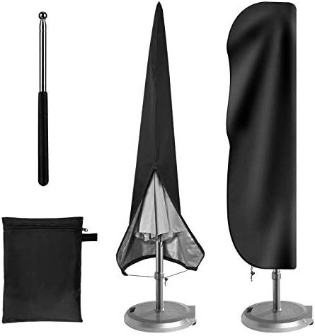 TerSale Patio Umbrella Cover Waterproof Cantilever Umbrella Cover Oxford Fabric Parasol Cover product image