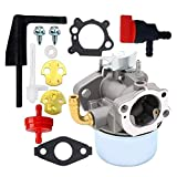 BIlinli Carburatore per motozappa Briggs Stratton Craftsman Intek 190 6 HP Motore 206 5,5 CV