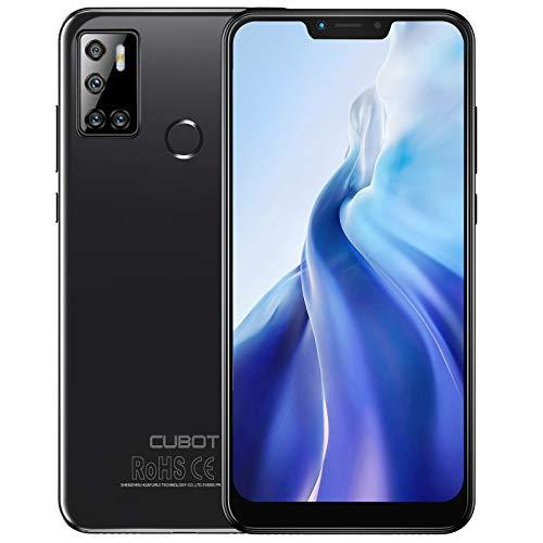 CUBOT C20 Smartphone 4G (6.18 Zoll, 4GB RAM, 64GB Speicher, 4200mAh, Quad Camera, Dual SIM, NFC), [deutsche Version] (Schwarz)