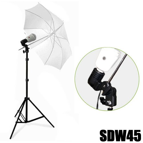 DYNASUN Studioblitz Studioset Profi SDW45 Studioleuchte Synchroblitz Synchronblitzlampe + Blitzbirne