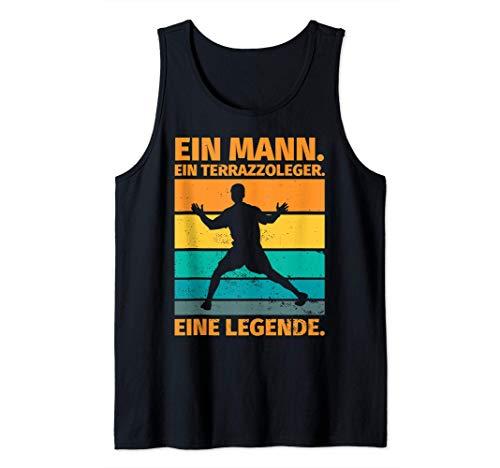 Herren Terrazzoleger Geschenk lustiger Spruch - Ein Terrazzoleger. Tank Top