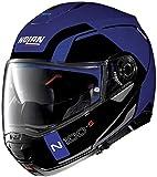 Nolan N100-5 ConSISTENCY N-COM FLAT CAYMAN BLUE XL