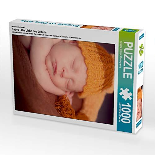 CALVENDO Puzzle Babys - Die Liebe des Lebens 1000 Teile Lege-Größe 48 x 64 cm Foto-Puzzle Bild von Sylwia Lorenz