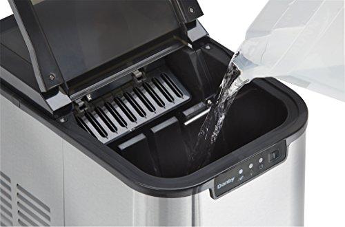 Danby 12Kg Ice Maker, Stainless Steel