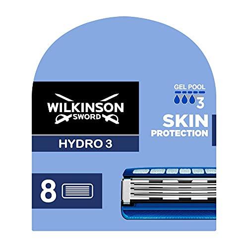 Wilkinson Sword Hydro 3 Skin Protection Rasierklingen, 8 Rasierklingen