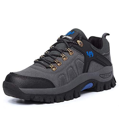 WYFC Chaussures De Randonnée Imperméables pour Femmes Chaussures De Randonnée Légères Trekking Bottes d'escalade D'extérieur À Taille Basse,Gray,40