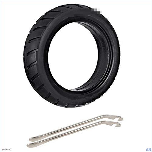 RONGSHU 8.5 Pulgadas Frente/Trasero Scooter Rueda de neumáticos Neumático de reemplazo sólido 8 1 / 2x2 Ajuste para Xiaomi M365 Scooter eléctrico Skateboard (Color : Black)