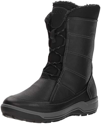 ECCO Damen Trace Hohe Stiefel, Schwarz (Black 01001), 36 EU