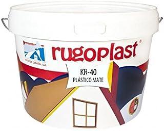 Pintura plástica blanca mate lavable de alta calidad