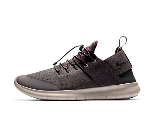 Nike Free RN CMTR 2017 Prem Mens Running Trainers AA2430 Sneakers Shoes (UK 6 US 7 EU 40, Midnight Fog Port Wine 003) Grey