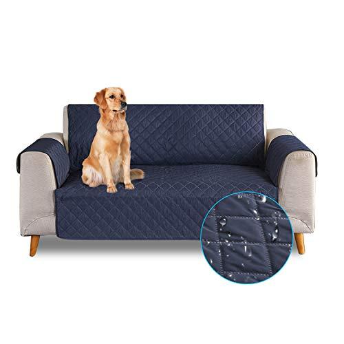 PETCUTE Funda de sofá 2 plazas Cubre Sofa Impermeable Protector de sofá Antideslizante Fundas Sofa…