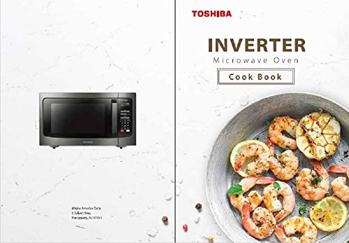 Microwave Cookbook: Easy Recipes: For Toshiba Inverter Microwave Ovens