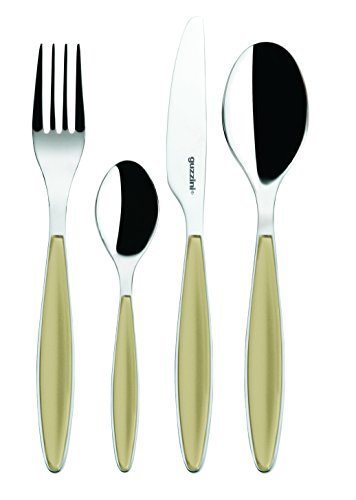 Fratelli Guzzini Feeling, Besteckset 24-teiliges, ABS SAN Stainless steel AISI 304 (18/10)  Stainless steel AISI 420 (knife)