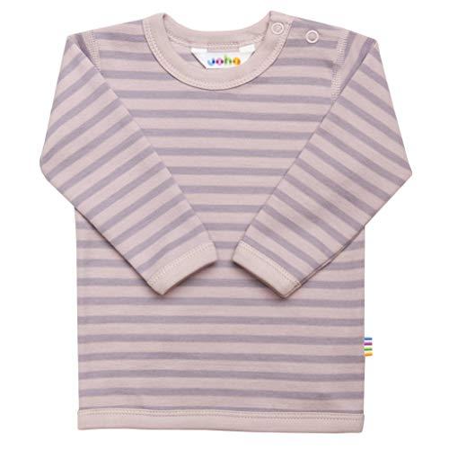 Joha T-shirt à manches longues en laine mérinos et coton bio pour fille - Rose - 4 ans
