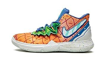 Nike Kyrie 5 Spongebob Pineapple  GS  5.5Y Orange Peel/Teal Tint