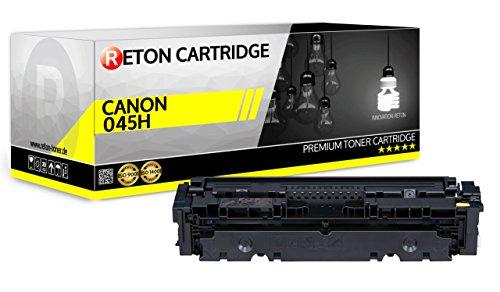 Originele Reton Toner | 25% hogere capaciteit | compatibel met 045H 045 Yellow voor Canon LBP613Cdw, LBP611Cn MF635Cx, MF633Cdw, MF631Cn