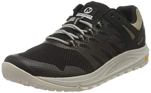 Merrell Nova 2 GTX, Zapatillas para Caminar Hombre, Negro (Black/Incense), 43 EU