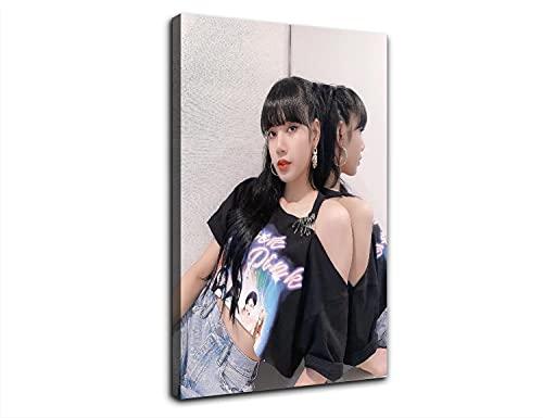 lalisa manoban instagram Creativity HD Hot Poster Pittura Decorativa Tela di Arte Della Parete Soggiorno Poster Camera Da Letto Pittura