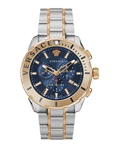 Versace VERG00618 Casual Chrono heren horloge chronograaf 48 mm