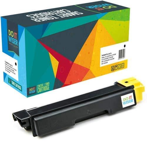 Do it wiser kompatible Toner als Ersatz für Kyocera TK 590Y, ECOSYS M6526CDN FS-C5250DN M6026CIDN P6026CDN FS-C2026MFP FS-C2126MFP FS-C2526MFP FS-C2626MFP (Gelb)