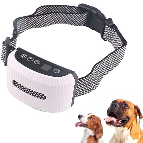 Anti Bell Tragbares Anti-Bell-Halsband Anti-Bell-Halsband Mit Fernbedienung IP67 Wasserdicht Lithium-Batterie Eingebaute Energie Geeignet Für Hunde Aller Körpertypen,D