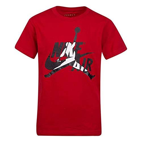 Nike Air Jordan Big Boys Short-Sleeve Jumpman T-Shirt Jordan (Medium, Gym Red)