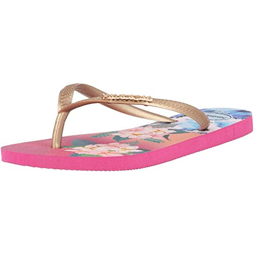 Havaianas Tropical Sunset, Infradito Donna, Multicolore (Hollywood Rose 0064), 35/36 EU