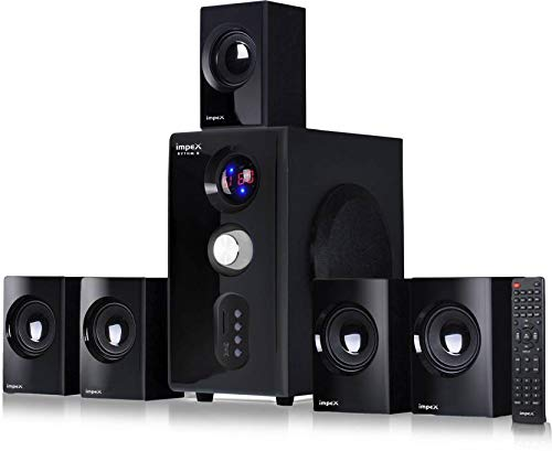Impex 5.1 Rhythm B 45 W Multimedia Bluetooth Speaker System (Black)